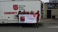 Sponsoring the Salvation Army